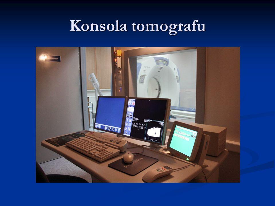 Konsola tomografu