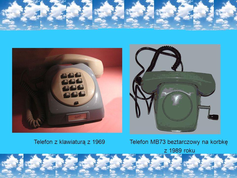 Telefon MB73 beztarczowy na korbkę