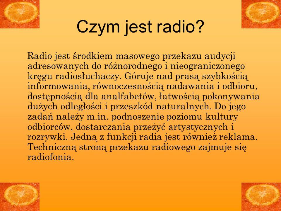 Czym jest radio