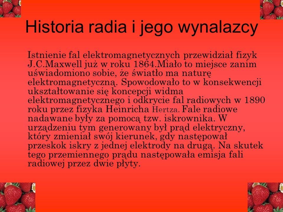 Historia radia i jego wynalazcy