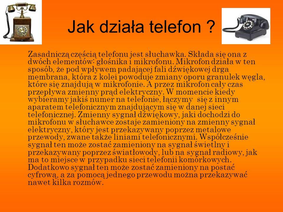 Jak działa telefon