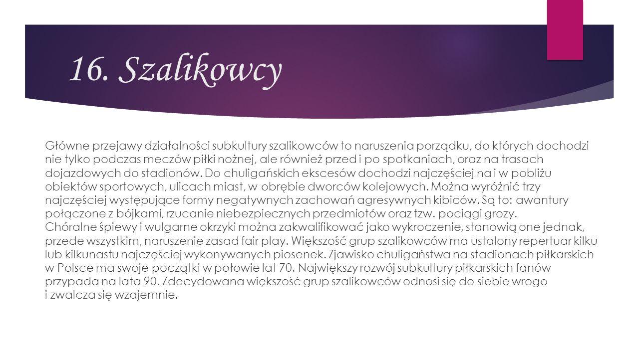 16. Szalikowcy