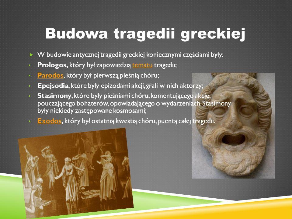 Budowa tragedii greckiej
