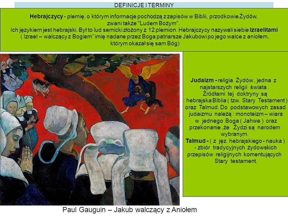 Paul Gauguin – Jakub walczący z Aniołem