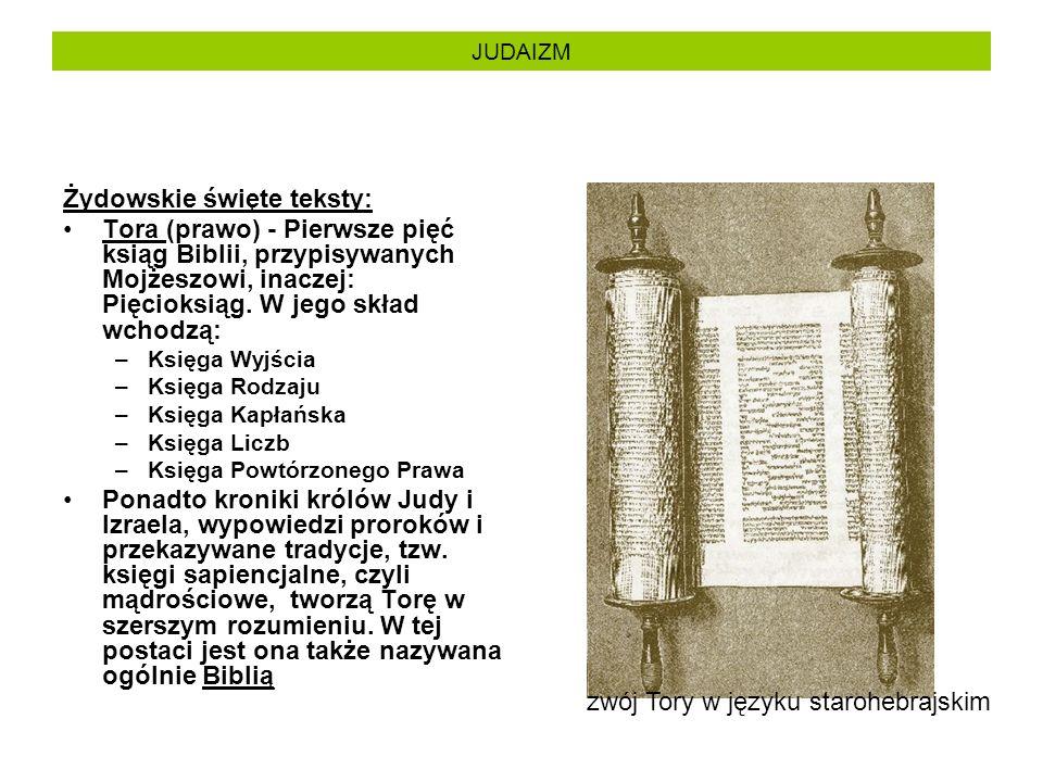Żydowskie święte teksty: