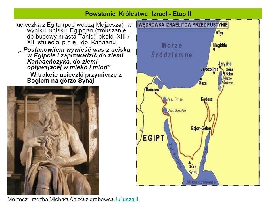 Powstanie Królestwa Izrael - Etap II