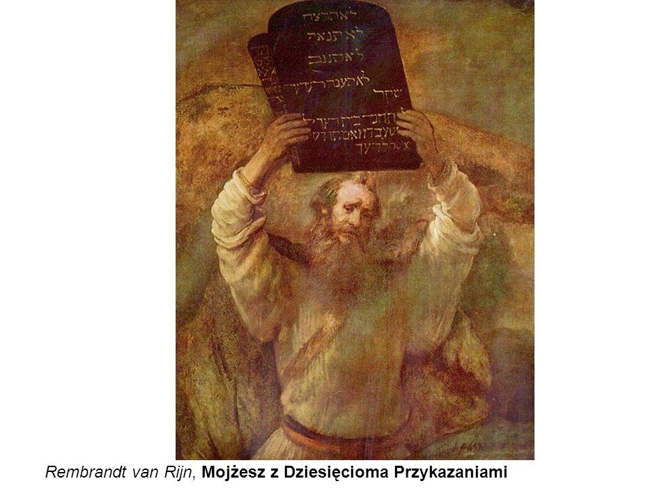 Rembrandt van Rijn, Mojżesz z Dziesięcioma Przykazaniami