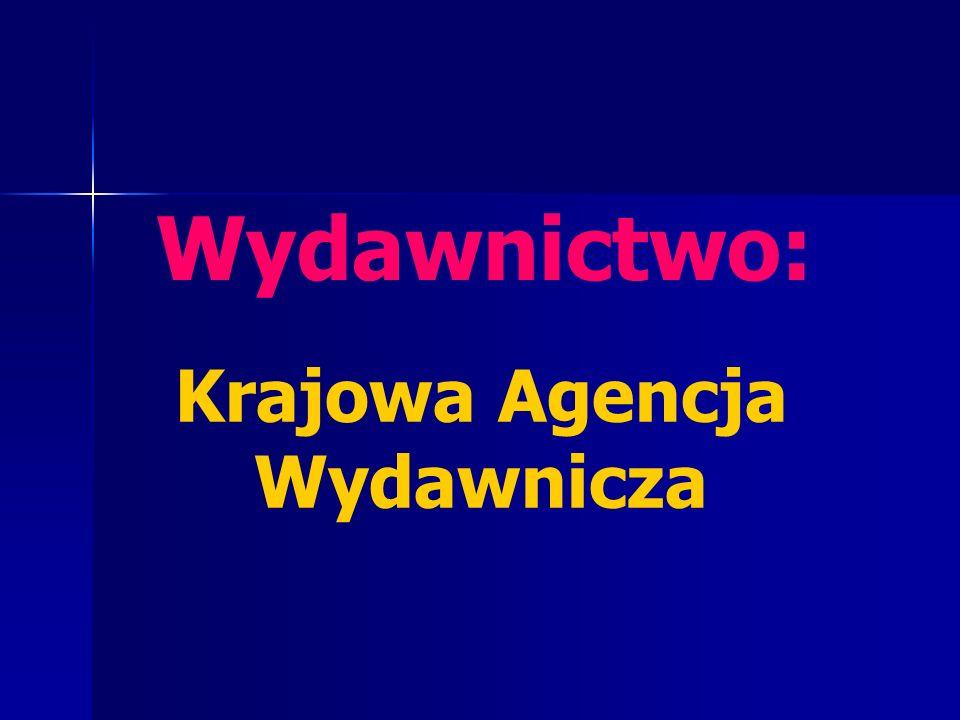 Krajowa Agencja Wydawnicza