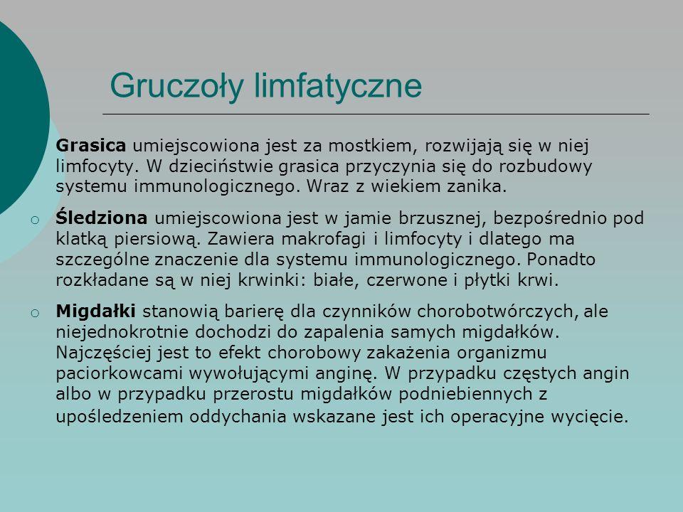 Gruczoły limfatyczne