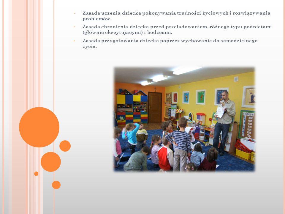 Zasada uczenia dziecka pokonywania trudności życiowych i rozwiązywania problemów.