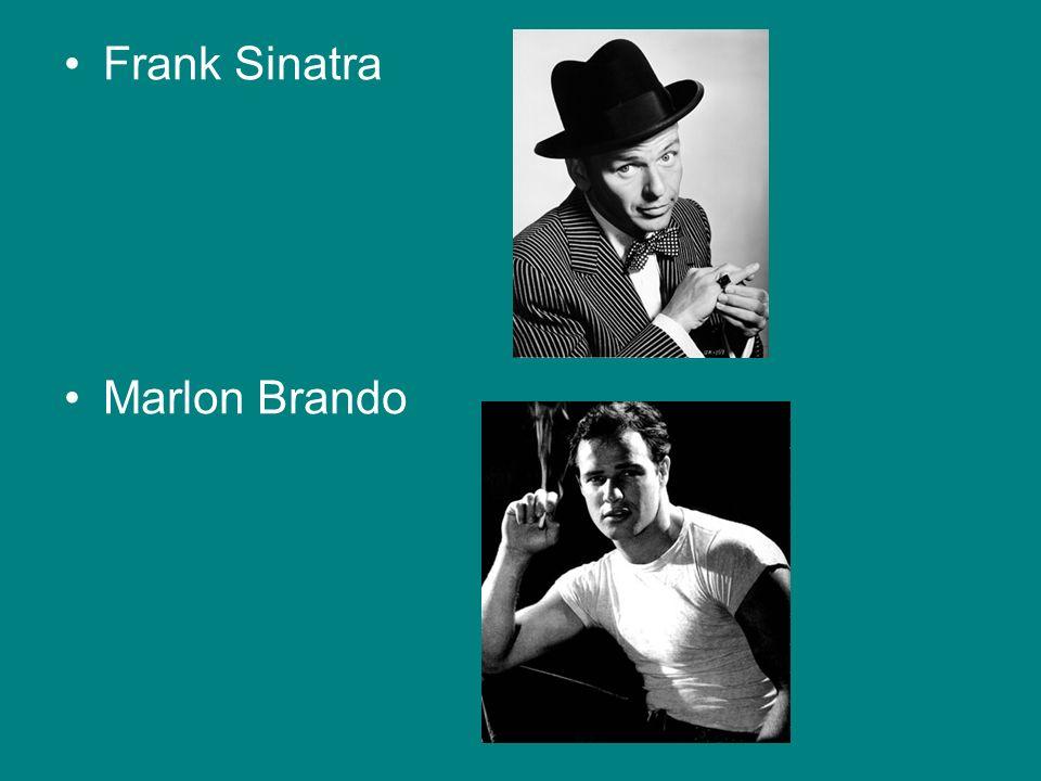 Frank Sinatra Marlon Brando