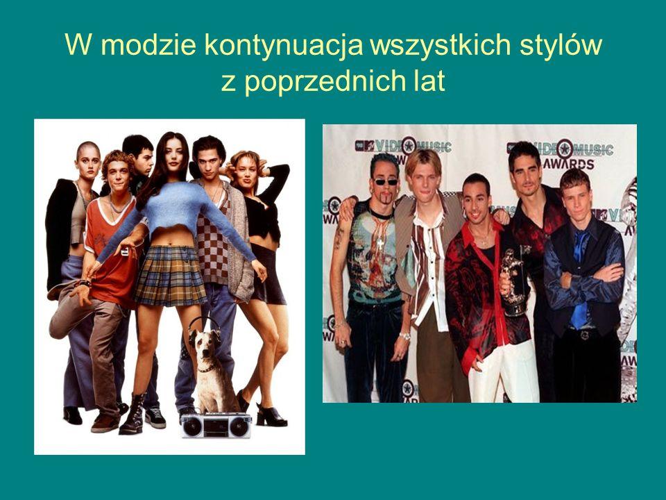 W modzie kontynuacja wszystkich stylów z poprzednich lat