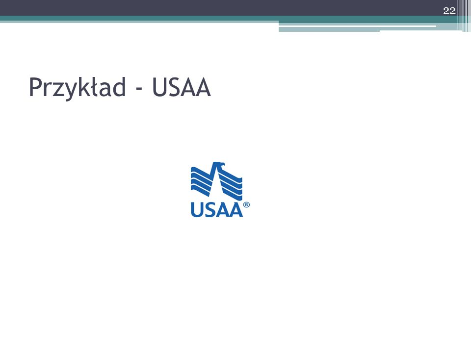 Przykład - USAA