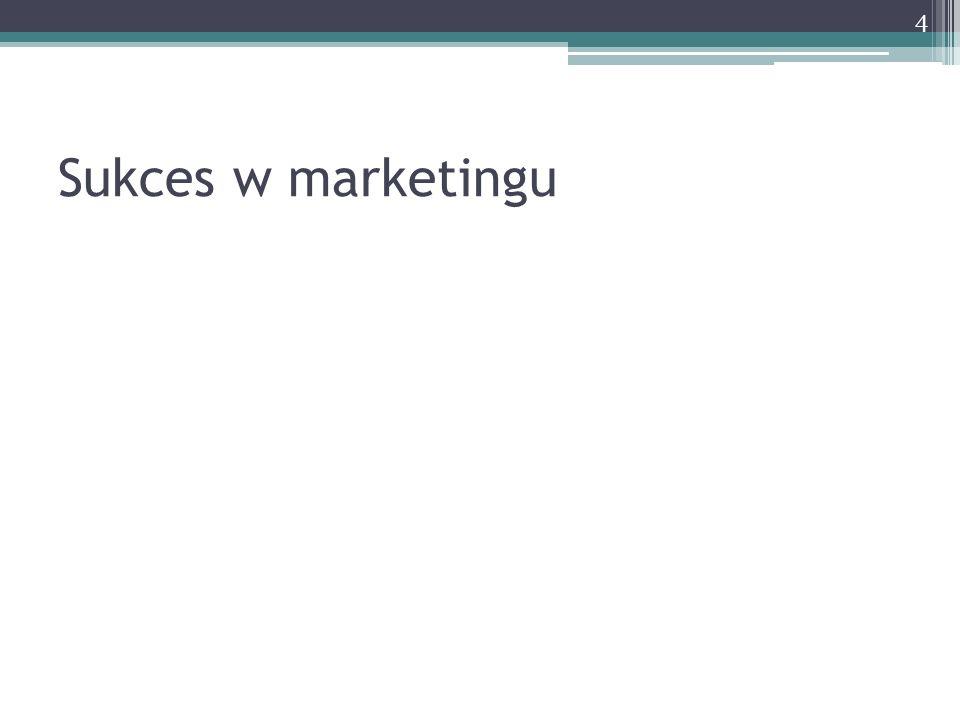 Sukces w marketingu