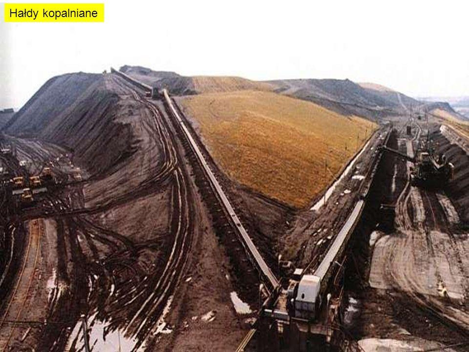 Hałdy kopalniane
