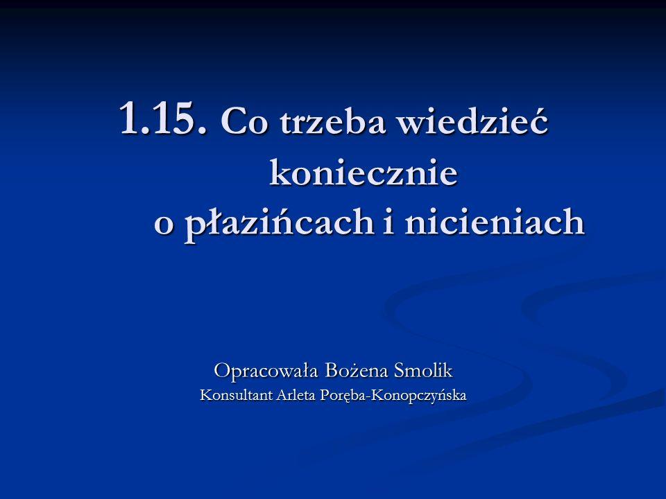 1.15. Co trzeba wiedzieć koniecznie o płazińcach i nicieniach
