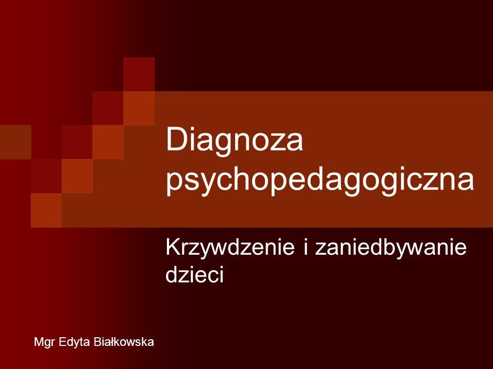 Diagnoza psychopedagogiczna