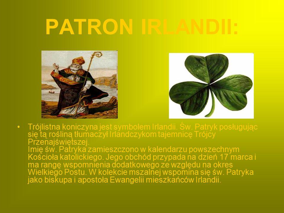 PATRON IRLANDII: