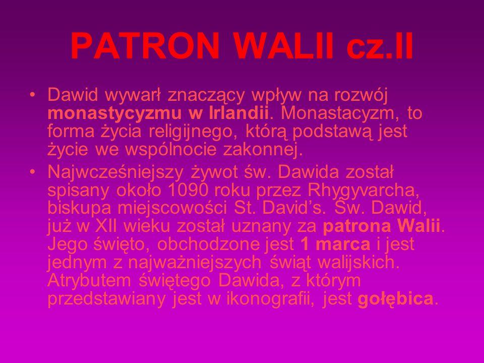 PATRON WALII cz.II