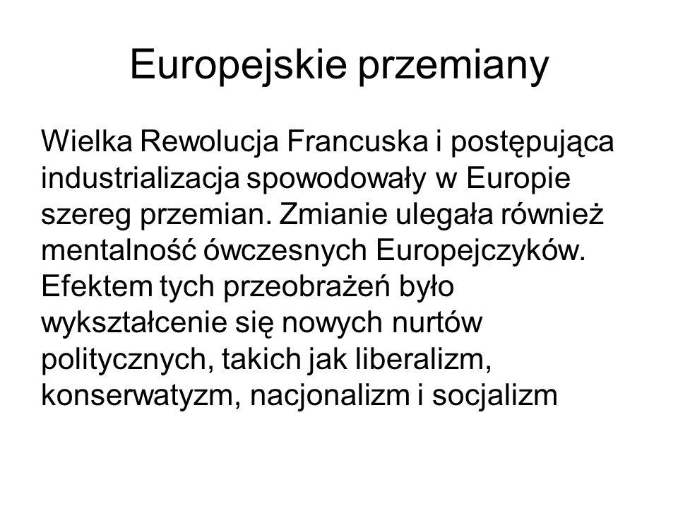 Europejskie przemiany