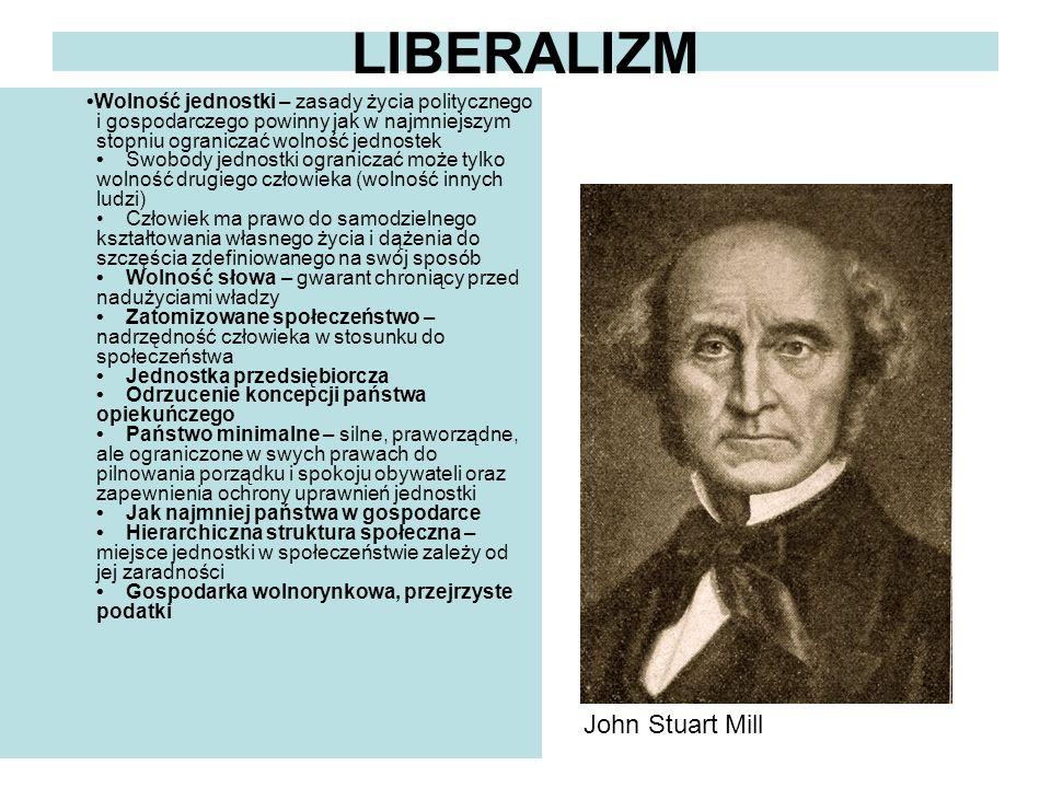 LIBERALIZM John Stuart Mill