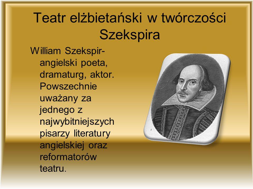 Teatr elżbietański w twórczości Szekspira