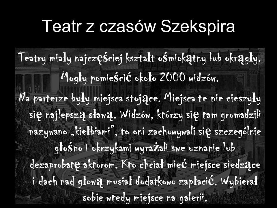 Teatr z czasów Szekspira