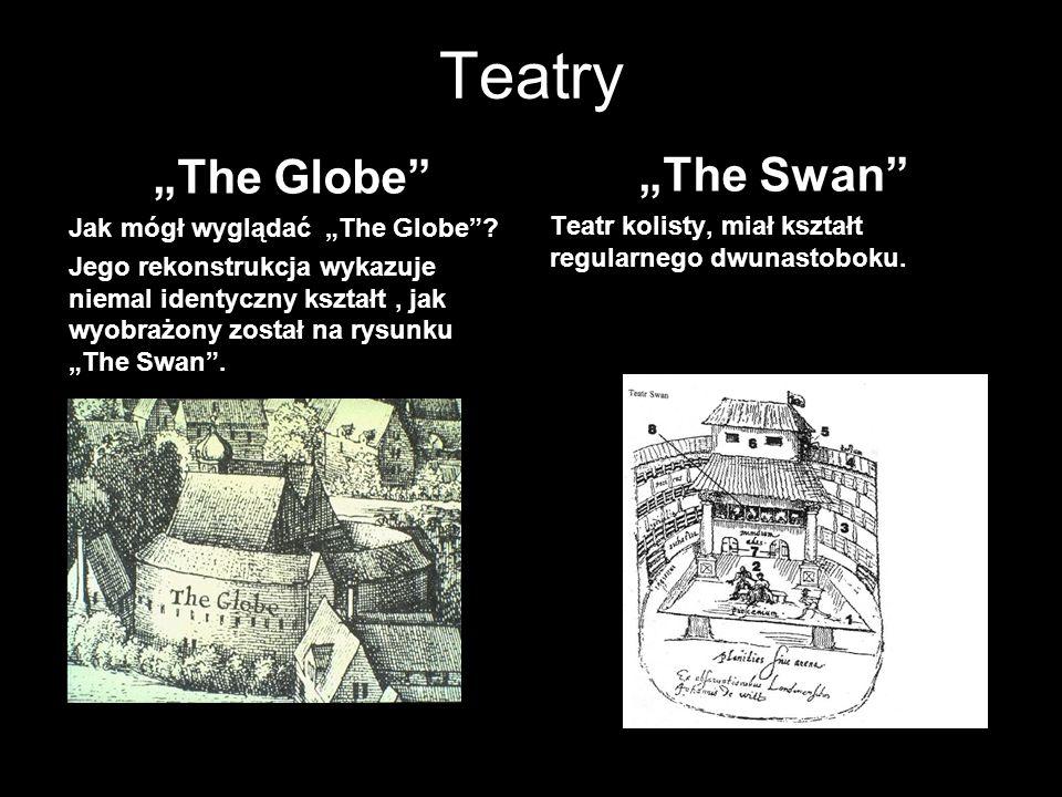 """Teatry """"The Globe """"The Swan Jak mógł wyglądać """"The Globe"""