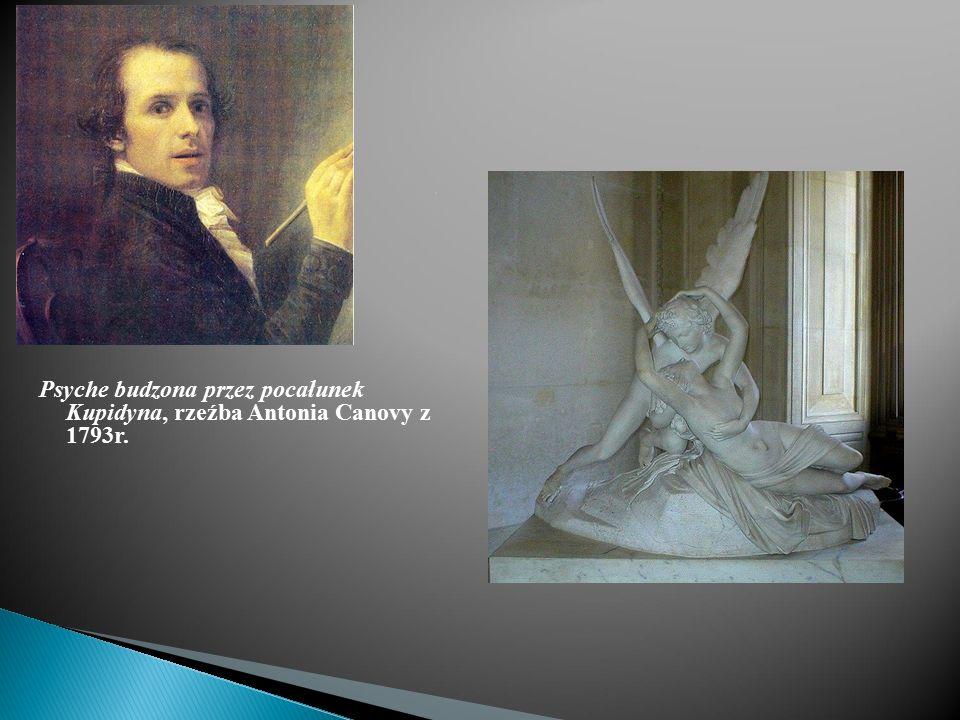 Psyche budzona przez pocałunek Kupidyna, rzeźba Antonia Canovy z 1793r.