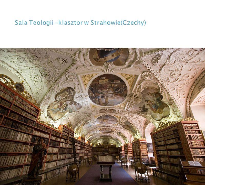 Sala Teologii –klasztor w Strahowie(Czechy)