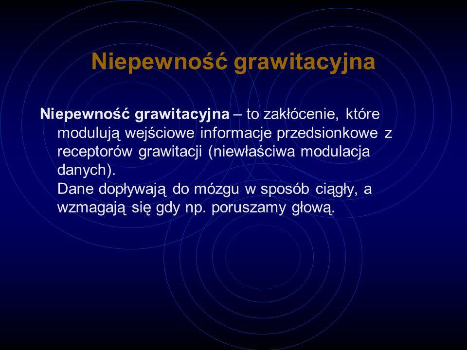 Niepewność grawitacyjna