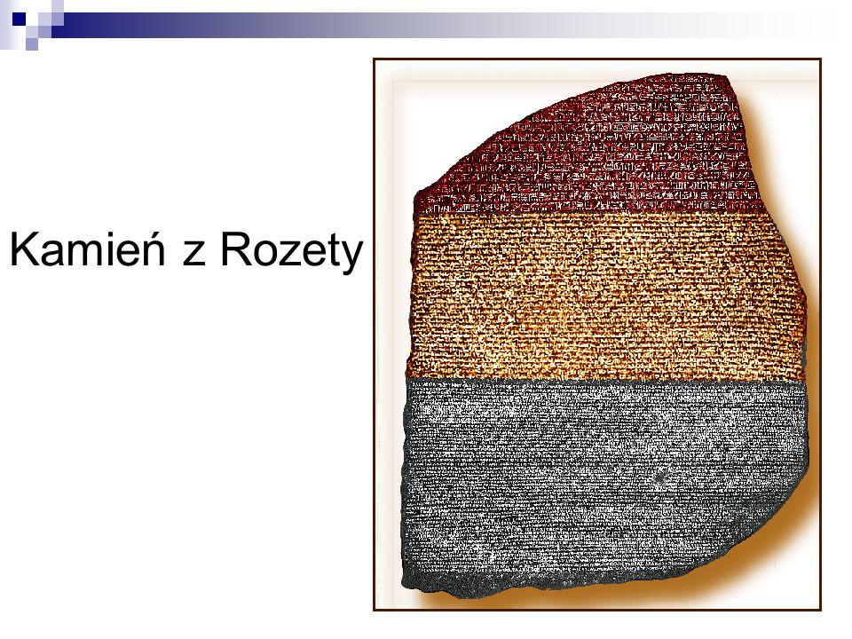 Kamień z Rozety