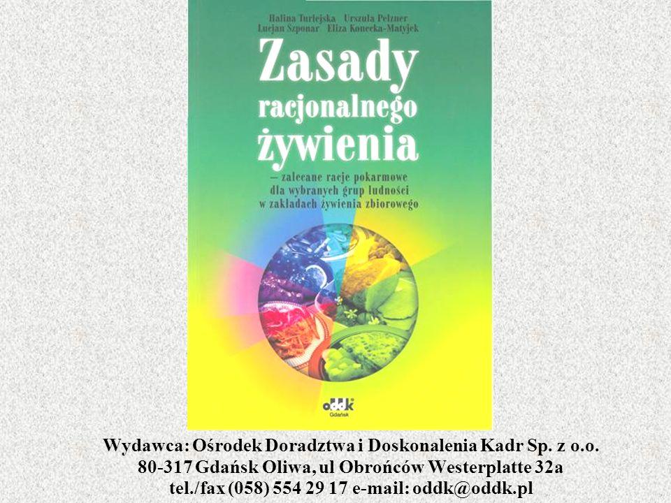 Wydawca: Ośrodek Doradztwa i Doskonalenia Kadr Sp. z o. o