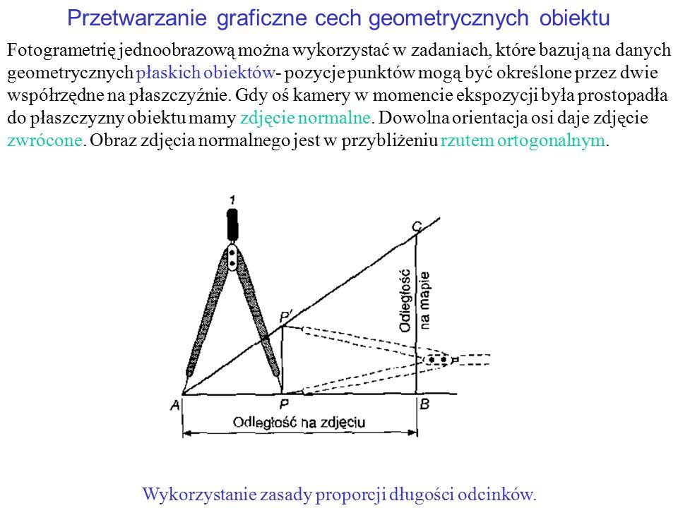 Przetwarzanie graficzne cech geometrycznych obiektu