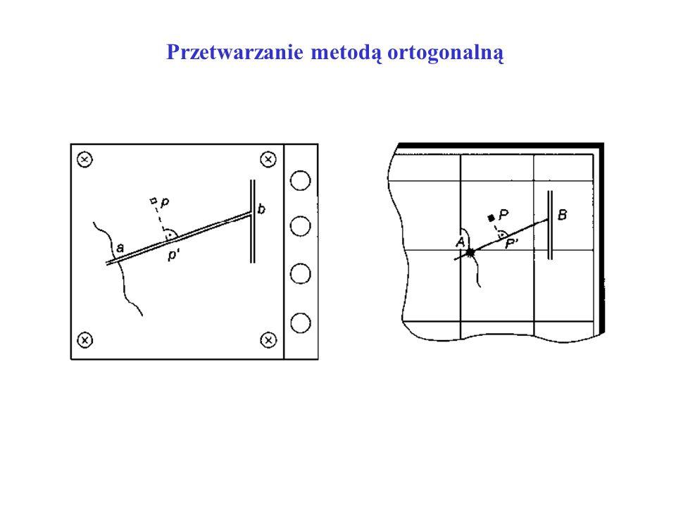 Przetwarzanie metodą ortogonalną