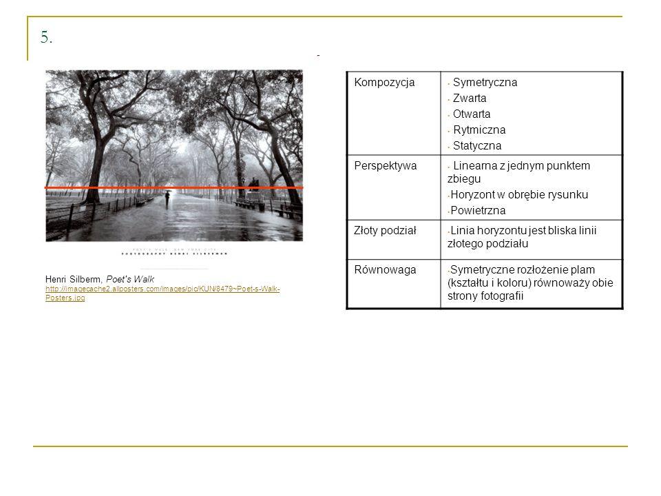 5. Kompozycja Symetryczna Zwarta Otwarta Rytmiczna Statyczna