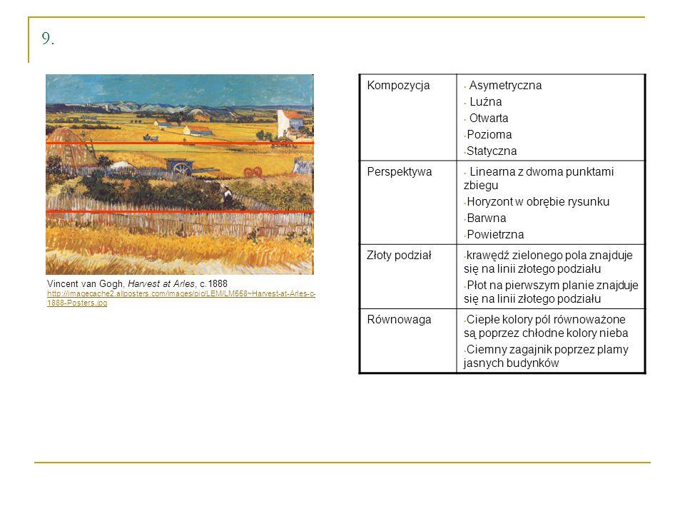 9. Kompozycja Asymetryczna Luźna Otwarta Pozioma Statyczna Perspektywa