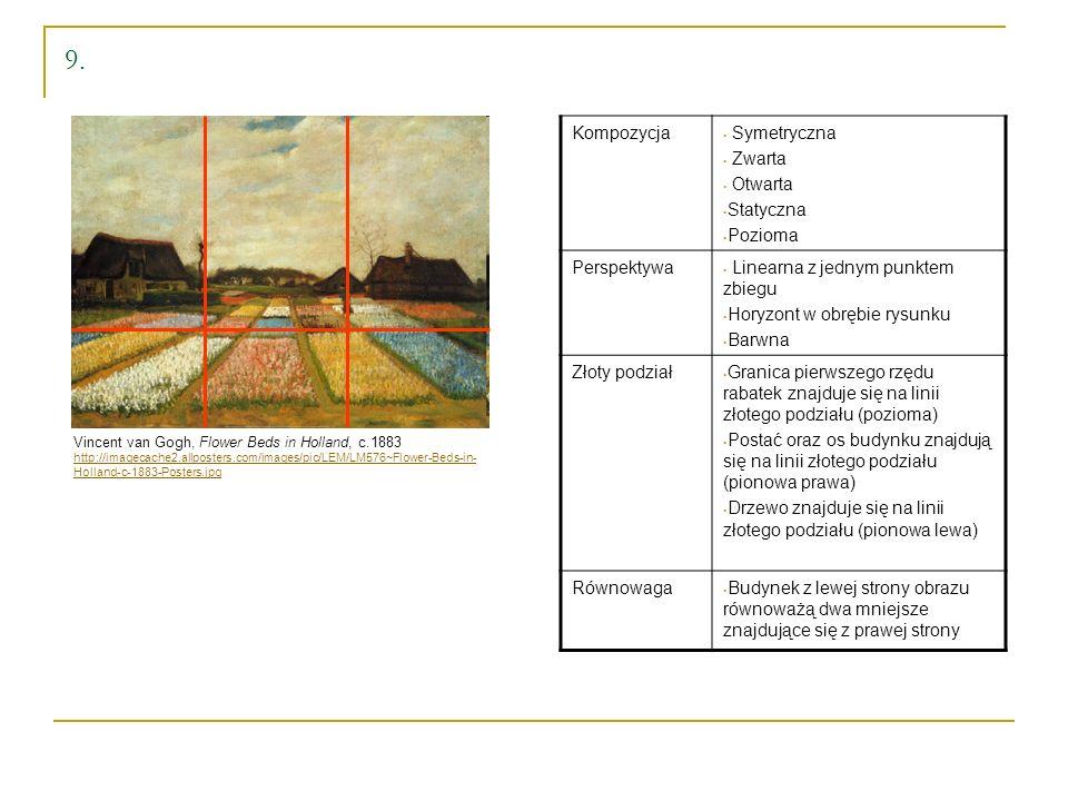 9. Kompozycja Symetryczna Zwarta Otwarta Statyczna Pozioma Perspektywa