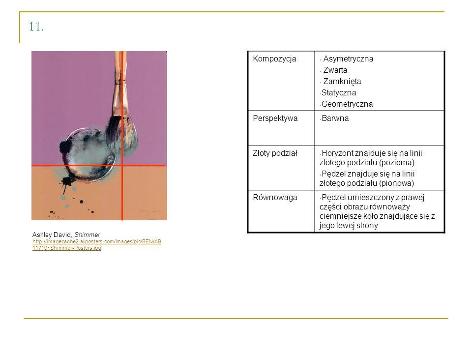 11. Kompozycja Asymetryczna Zwarta Zamknięta Statyczna Geometryczna