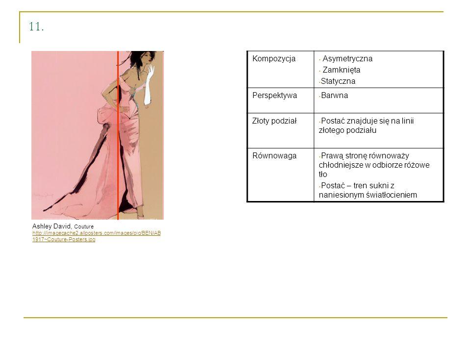 11. Kompozycja Asymetryczna Zamknięta Statyczna Perspektywa Barwna