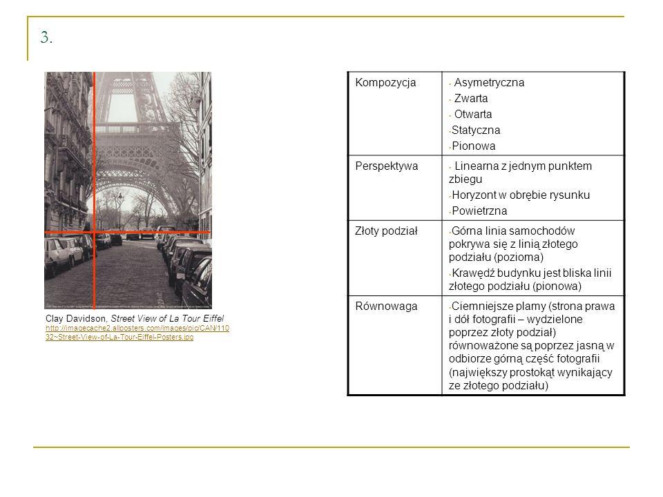 3. Kompozycja Asymetryczna Zwarta Otwarta Statyczna Pionowa