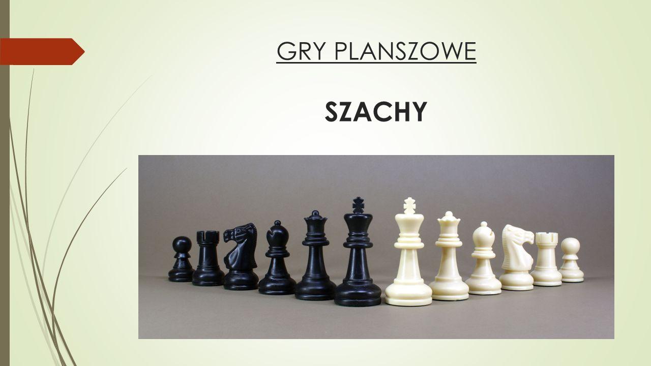 GRY PLANSZOWE SZACHY