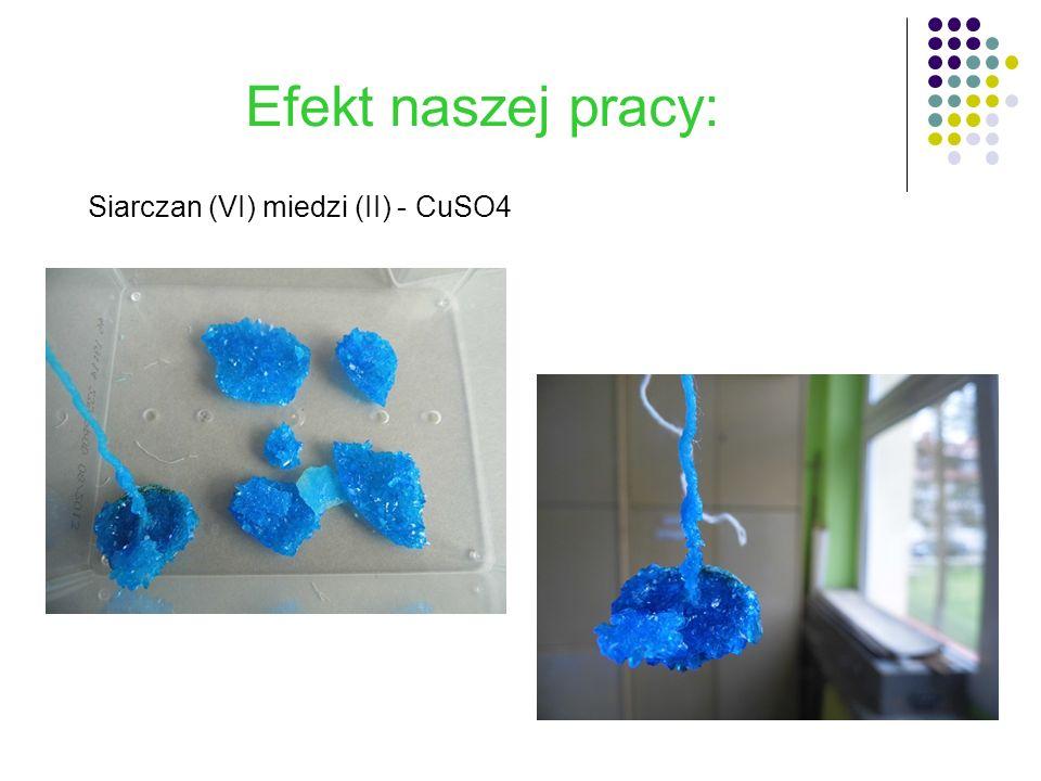 Siarczan (VI) miedzi (II) - CuSO4
