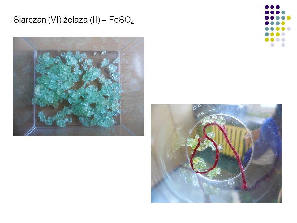 Siarczan (VI) żelaza (II) – FeSO4