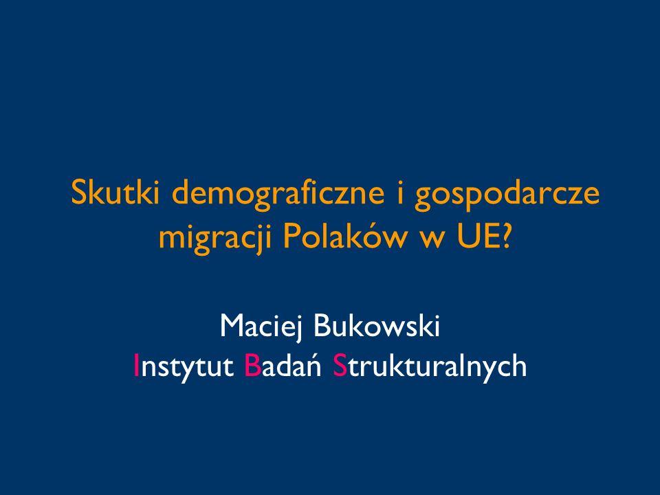 Skutki demograficzne i gospodarcze migracji Polaków w UE