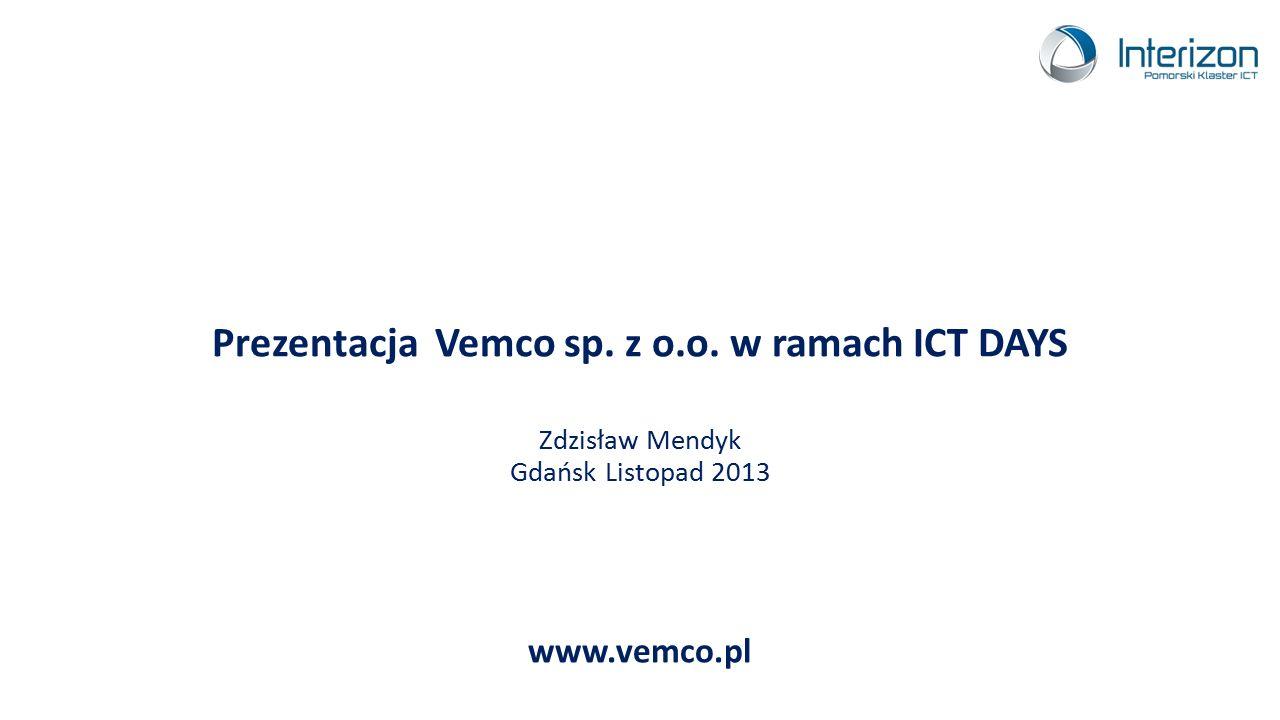 Prezentacja Vemco sp. z o. o