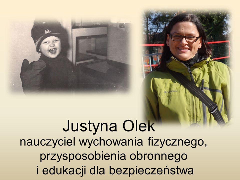 Justyna Olek nauczyciel wychowania fizycznego,