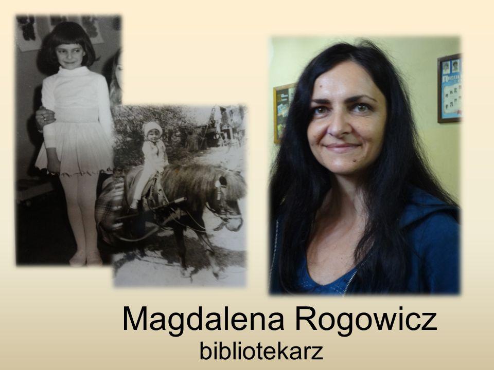 Magdalena Rogowicz bibliotekarz