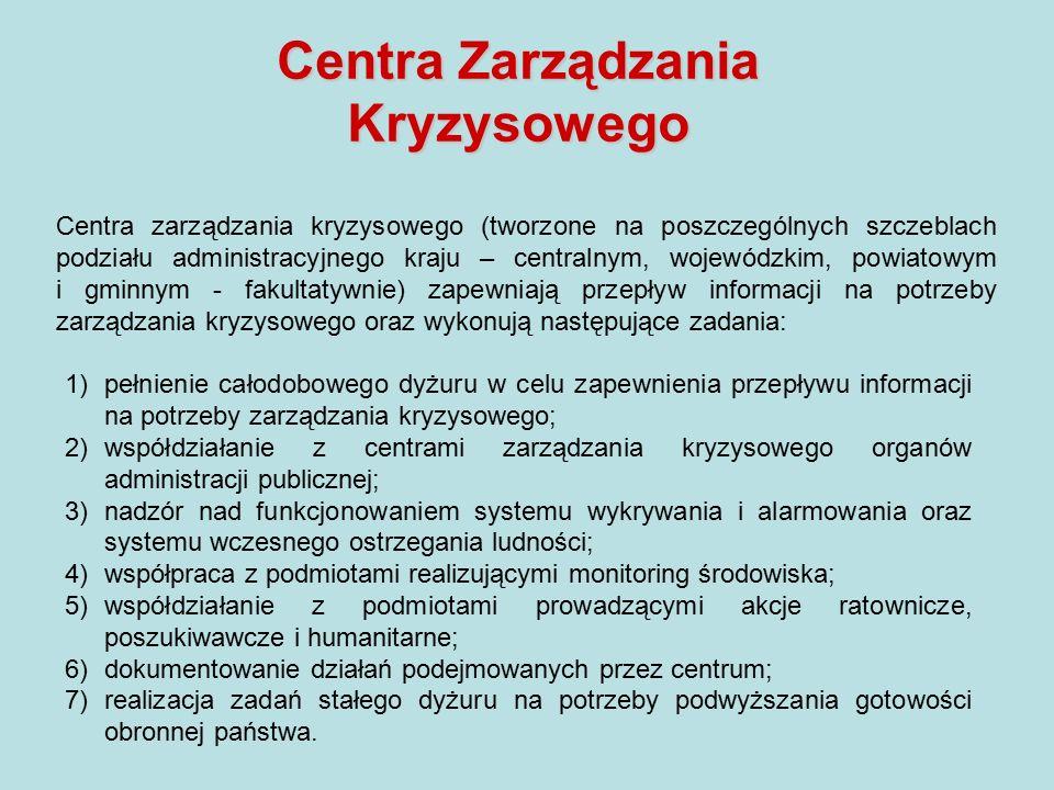 Centra Zarządzania Kryzysowego