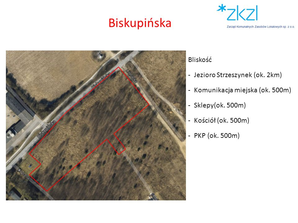 Biskupińska Bliskość Jezioro Strzeszynek (ok. 2km)